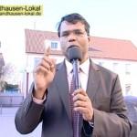 Pastor Arul Lourdu predigt in Tamil