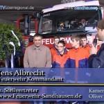 Tag der offenen Tür bei der FFW Sandhausen – Bürgermeisterbaum überreicht