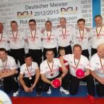 Sandhausen: Rot-Weiß feiert Deutsche Kegelmeisterschaft