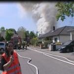 Explosion  in Neulussheim – Gesamtschaden ca. 300.000 € – Keine Verletzten
