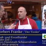 Frankes Tiroler Spezialitäten auf dem Wochenmarkt