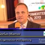 Philippsburg: Stefan Martus als Bürgermeister mit 81,3 % wiedergewählt