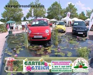 Garten und Teich Veranstaltung