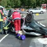 40 Feuerwehren und Rettungskräfte auf Großübung in Wiesloch