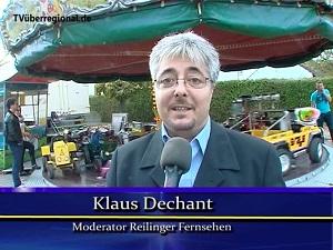Kerwe Reilingen, Klaus Dechant Moderator Reilinger Fernsehen