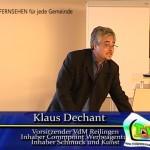 Wer nichts bewegt – wird bewegt. Vortrag durch VdM Vorsitzenden Klaus Dechant