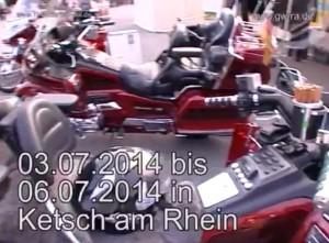 Goldwingtreffen Ketsch am Rhein 2012. Produziert durch TVüberregional - Lokalfernsehen für jede Gemeinde. Oliver Döll