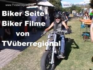 Biker und Aufnahmen der Veranstaltungen bei den Bikern