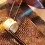 Die Goldschmiede in Reilingen –  Privatleute lernen Gold löten – verschenken Sie einen Goldschmiedekurs