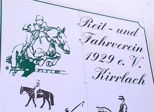 Nikolaus mit Kutsche bei Reit- und Fahrverein in Kirrlach - Weihnachtsreiten