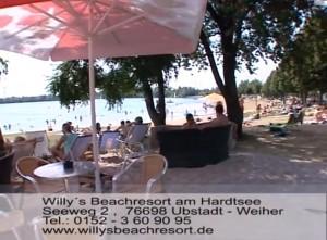 Willy´s Beachresort Teil 2 Karibischen Urlaub in Ubstadt Weiher am Hardtsee