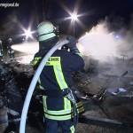 Brand bei der Erholungsanlage St.Leoner See