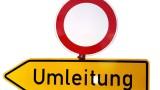 Vollsperrung der Autobahn-Anschlussstelle Wiesloch/Rauenberg