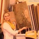 LEUTE HEUTE bei Künstlerin Nina Kruser