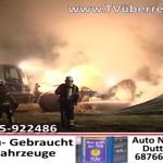 Brand von etwa 180 Strohballen in Baiertal