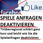 Spieleanfragen im Facebook deaktivieren leicht gemacht