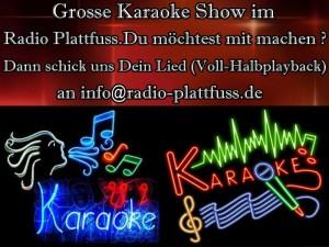 Radio Plattfuss  Karaoke