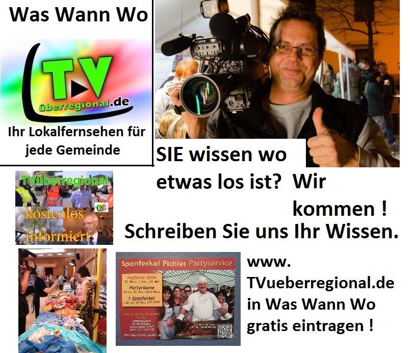 Was Wann wo TVüberregional Lokalfernsehen Infoseite