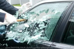 Reilingen: Scheibe an Renault eingeschlagen - Zeugen gesucht