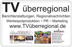 TVüberregional Lokalfernsehen Oliver Döll DöllTV tvü magnetschild vistaprint auto