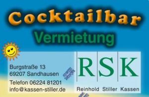 Cocktailbar Vermietung Stiller Baden Württemberg