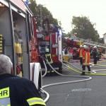 Erste Bilder: Wohnungsbrand in Neulußheim