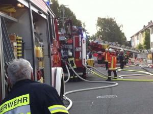 Wohnungsbrand in Neulußheim
