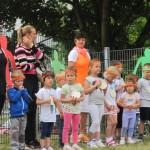 Sommerfest im Kindergarten Spatzennest stand unter dem Motto Fitness und Bewegung