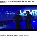 Cleanfeed zur E3 2014 Gaming Paradies unter der Sonne Kaliforniens