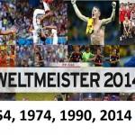 Fussball Weltmeister Deutschland 2014