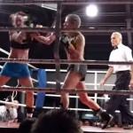 Melanie Zwecker ist Profiboxerin und boxt um die Weltmeisterschaft