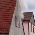 Reilingen/Rhein-Neckar-Kreis: Wohnhausbrand – Ursache umgestürzte Kerze – Schaden ca. 270.000 Euro
