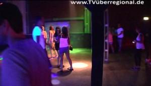 DJ Benny gibt in der Disco T 1 in Mühlhausen Partys