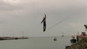Erfolgreicher Weltrekordversuch auf Helgoland