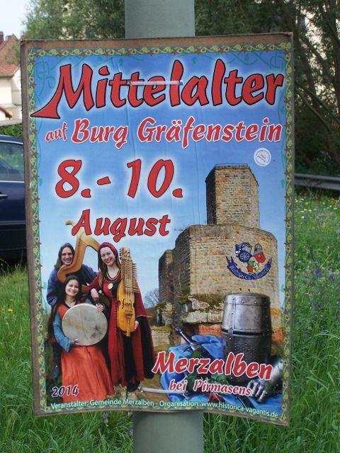 Mittelalter Spectaculum auf dem Gräfenstein