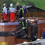 Kran in Leimen-Lingental umgestürzt – 4 Verletzte – Großaufgebot an Rettungskräften