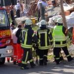 Kran in Leimen-Lingental umgestützt – Schwerverletzte – Großaufgebot an Rettungskräften