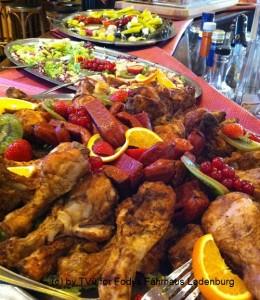 Frühstück und Mittag - grösste Auswahl - am Sonntag - Restaurant Fodys Ladenburg