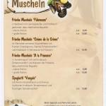 Frische Muscheln geniessen im Restaurant in Ladenburg am Neckar – Fodys Fährhaus