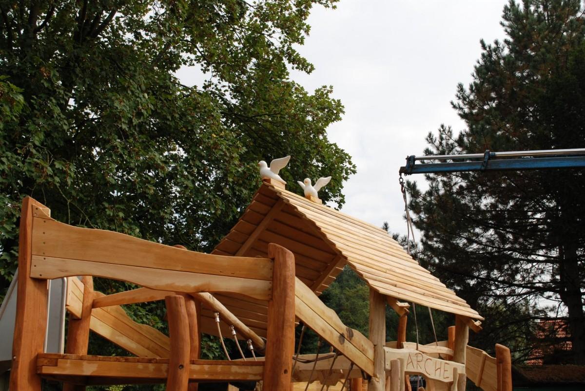 Charming Arche Auf Dem Spielplatz Rauenberg Wird Eingeweiht U2013 SAPler Helfen Bei  Letzten Arbeiten