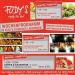 Buffet Mittagessen im Restaurant Fodys Ladenburg