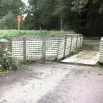 Walldorf: Reilinger Brücke wegen Sanierung gesperrt
