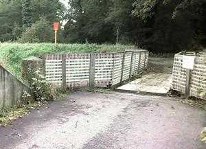 Walldorf: Reilinger Brücke