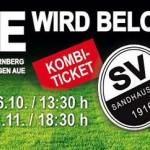 SVS belohnt Treue: Kombi-Ticket für Aue und Nürnberg – Spiele im Hardtwald