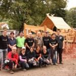 Arche auf dem Spielplatz Rauenberg wird eingeweiht – SAPler helfen bei letzten Arbeiten
