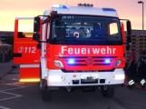 Altlußheim: Lkw gerät währen der Fahrt in Brand