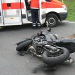 Edingen-Neckarhausen: Schwer verletzte Motorradfahrerin bei Auffahrunfall auf der Autobahn