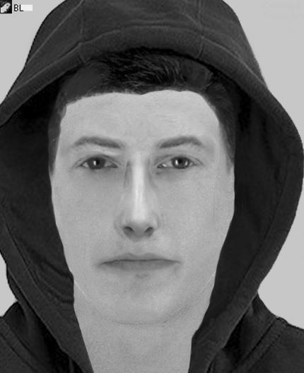 Nach Überfall auf Spielhalle in Karlsruher - Kriminalpolizei sucht mit Phantombild nach Täter