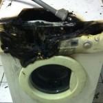 Waschmaschinenbrand sorgt für Feuerwehreinsatz