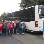 """Wiesloch: """"Aktion Schulbus"""" für die Fünftklässler""""- Verkehrsprävention"""